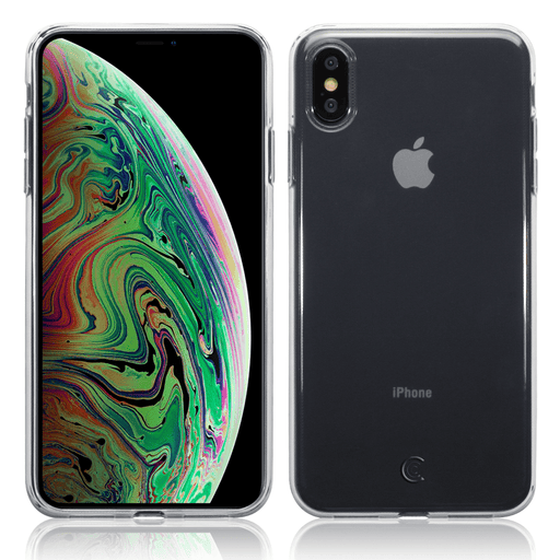 Clear Case Co. Cases Apple iPhone XS Max Clear TPU Gel Case by Clear Case Co.