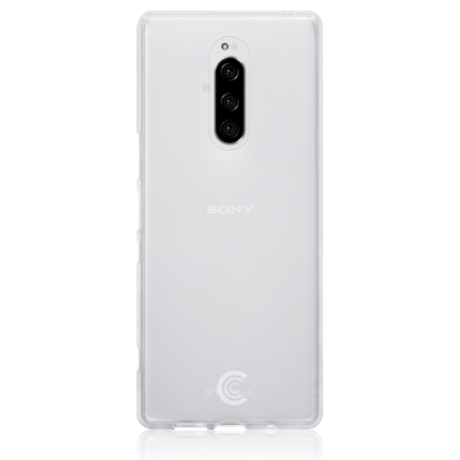 Clear Case Co. Cases Sony Xperia 1 Clear TPU Gel Case by Clear Case Co.