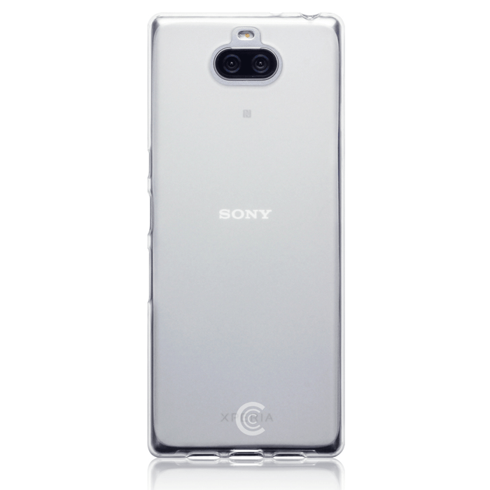 Clear Case Co. Cases Sony Xperia 10 Plus Clear TPU Gel Case by Clear Case Co.