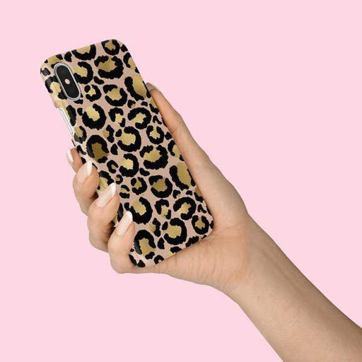 Coconut Lane Cases Coconut Lane Gold Leopard Phone Case for Apple iPhone X/XS