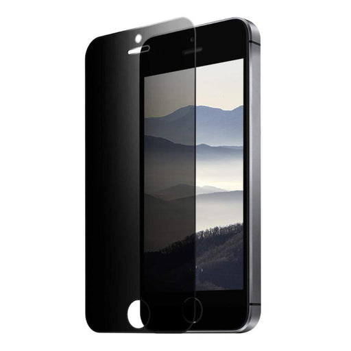 Eiger Screen Protection Eiger 2.5D Privacy GLASS Tempered Glass Screen Protector for Apple iPhone 5/5s/SE
