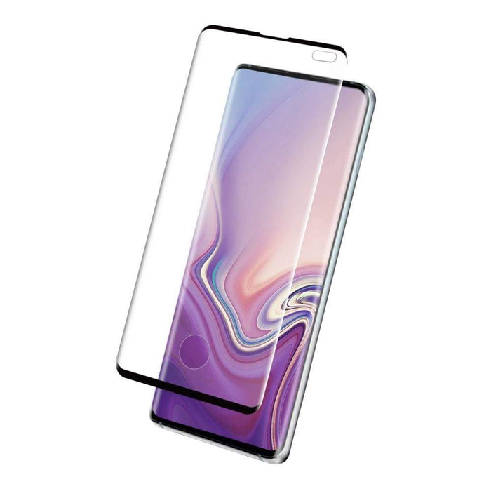 Eiger Screen Protection Eiger 3D GLASS Case Friendly Glass Screen Protector for Samsung Galaxy S10+ in Clear/Black