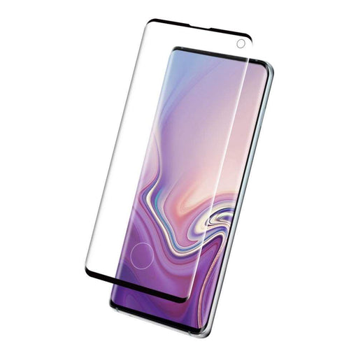 Eiger Screen Protection Eiger 3D GLASS Case Friendly Tempered Glass Screen Protector for Samsung Galaxy S10 in Clear/Black