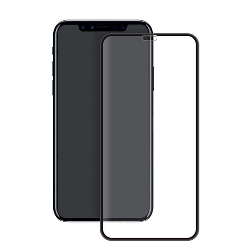 Eiger Screen Protection Eiger 3D GLASS Full Screen Glass Screen Protector for Apple iPhone XR in Clear/Black