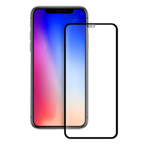 Eiger Screen Protection Eiger 3D GLASS Full Screen Glass Screen Protector for Apple iPhone XS Max in Clear/Black
