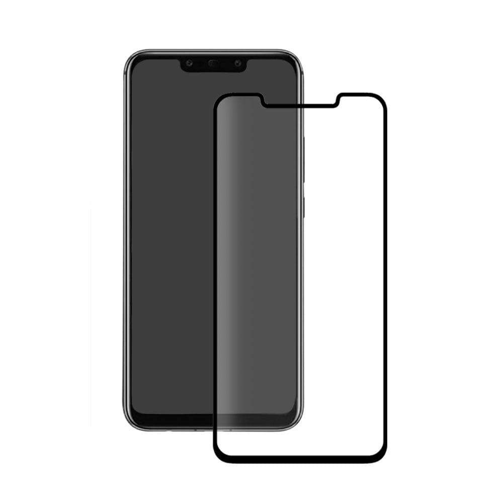 Communication & Mobile Phones Eiger 3D GLASS Full Screen Tempered Glass Screen Protector for Huawei Mate 20 Pro in Clear/Black