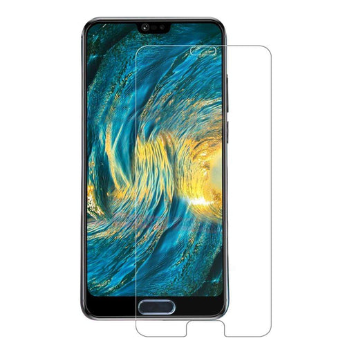 Eiger Screen Protection Eiger 3D GLASS Full Screen Tempered Glass Screen Protector for Huawei P20 in Clear