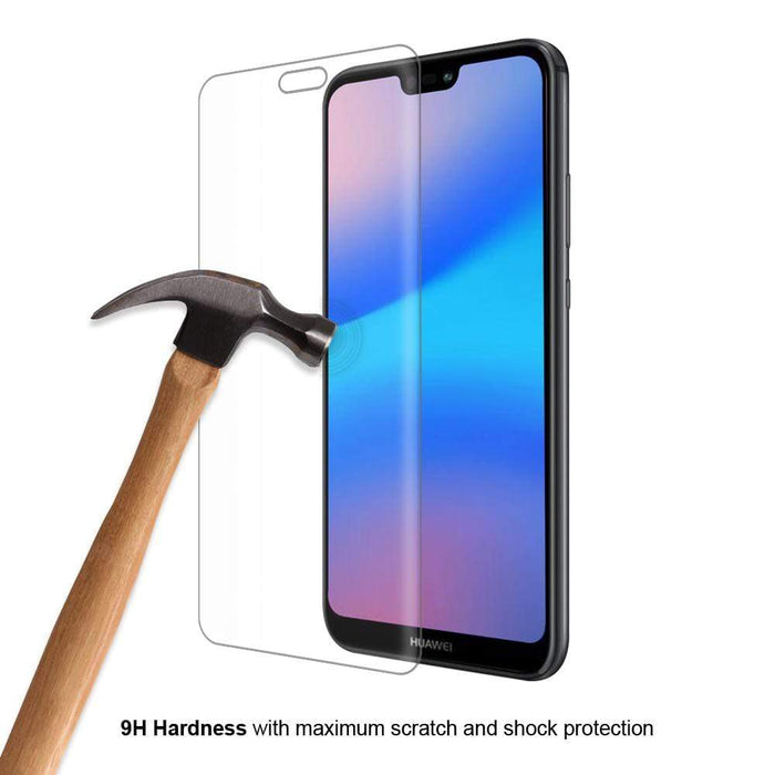 Eiger Screen Protection Eiger 3D GLASS Full Screen Tempered Glass Screen Protector for Huawei P20 Lite in Clear