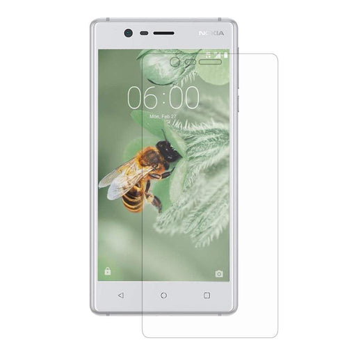 Eiger Screen Protection Eiger 3D GLASS Full Screen Tempered Glass Screen Protector for Nokia 3 in Clear