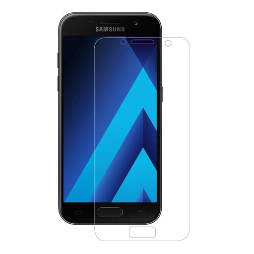 Eiger Screen Protection Eiger 3D GLASS Full Screen Tempered Glass Screen Protector for Samsung Galaxy A3 (2017) in Clear