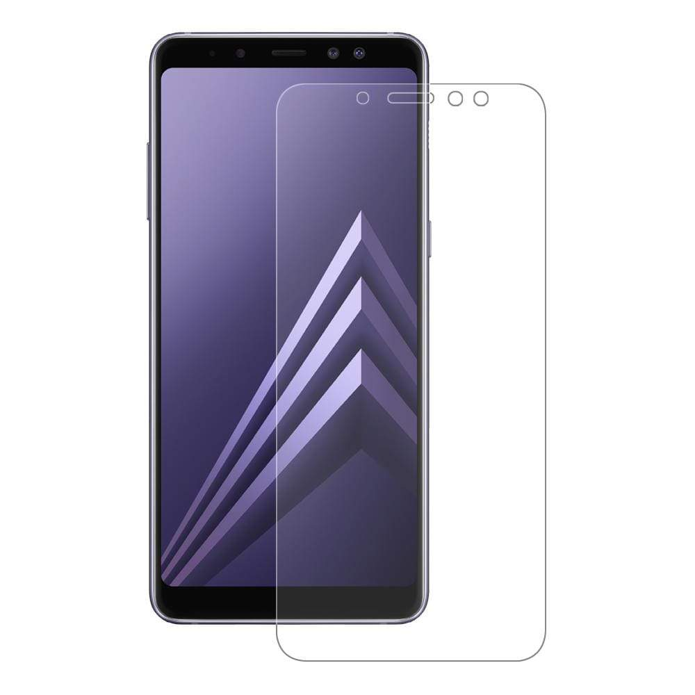 Eiger Screen Protection Eiger 3D GLASS Full Screen Tempered Glass Screen Protector for Samsung Galaxy A8 (2018) in Clear
