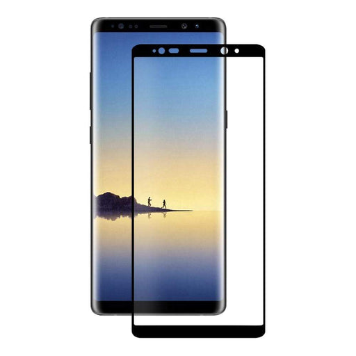 Eiger Screen Protection Eiger 3D GLASS Full Screen Tempered Glass Screen Protector for Samsung Galaxy Note 8 in Clear/Black