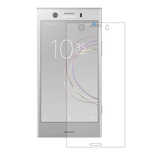 Eiger Screen Protection Eiger 3D GLASS Full Screen Tempered Glass Screen Protector for Sony Xperia XZ1 Compact in Clear