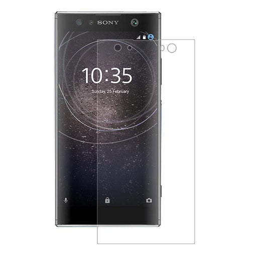 Eiger Screen Protection Eiger 3D GLASS Tempered Glass Screen Protector in Clear for Sony Xperia XA2 Ultra