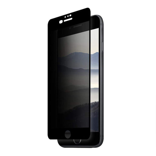 Eiger Screen Protection Eiger 3D Privacy GLASS Tempered Glass Screen Protector for Apple iPhone 8 Plus/7 Plus/6s Plus/6 Pluss in Black