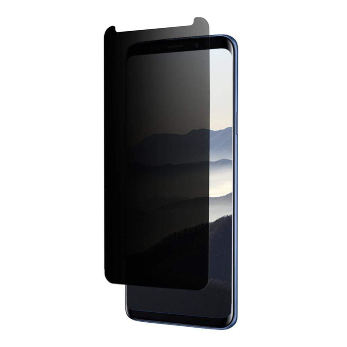 Eiger Screen Protection Eiger 3D Privacy GLASS Tempered Glass Screen Protector for Samsung Galaxy S9