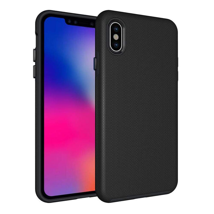 Eiger Screen Protection Eiger North Case for Apple iPhone XS Max in Black