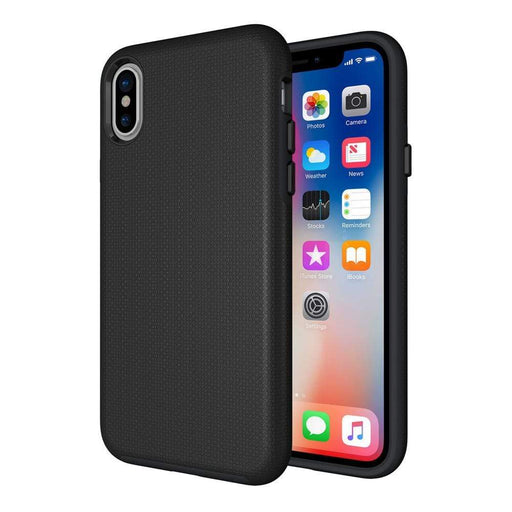 Eiger Screen Protection Eiger North Case for Apple iPhone XS/X in Black