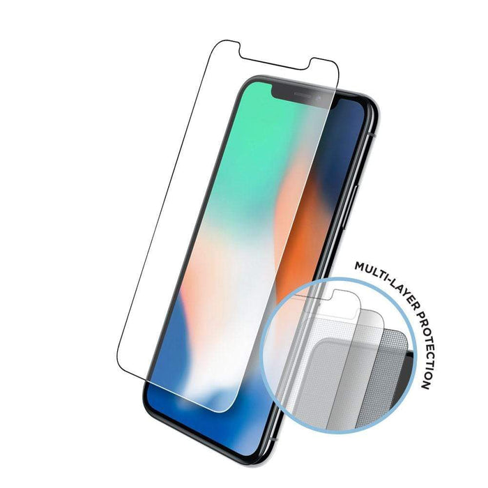 Eiger Screen Protection Eiger Tri Flex High-Impact Film Screen Protector (2 Pack) for Apple iPhone XS/X in Clear