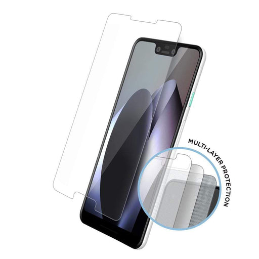 Eiger Screen Protection Eiger Tri Flex High-Impact Film Screen Protector (2 Pack) for Google Pixel 3XL in Clear