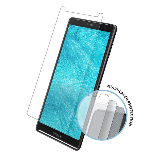 Eiger Screen Protection Eiger Tri Flex High-Impact Film Screen Protector (2 Pack) for Sony Xperia XZ2 in Clear