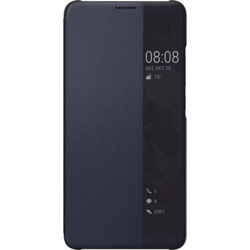 Huawei Cases Huawei Flip View Cover Case for Huawei Mate 10 Pro/Mate 10 Porsche Design in Dark Blue