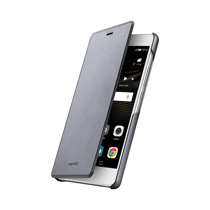 size 40 54659 45c50 Huawei Original Flip Cover For P9 Lite Grey