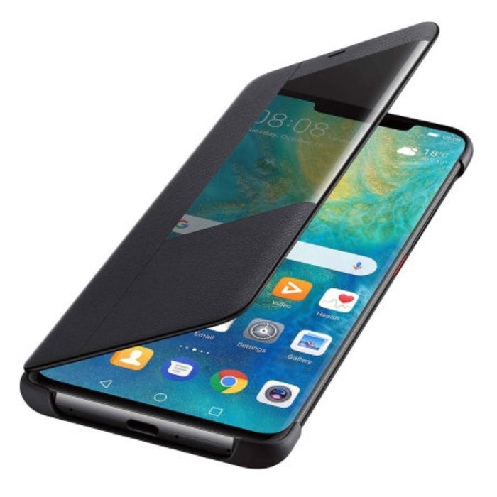 Huawei Cases Huawei Smart View Flip Case for the Huawei Mate 20 Pro in Black