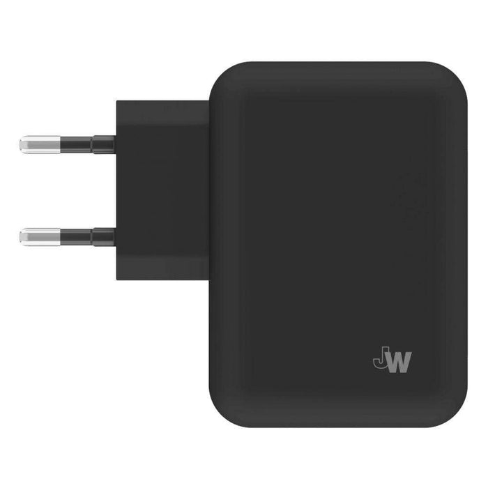 Just Wireless Chargers & Cables Just Wireless 4.2A EU Dual Mains Charger (No Cable) in Black