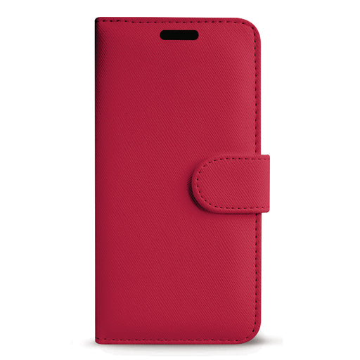 Case FortyFour No.11 for Apple iPhone 11 Pro in Cross Grain Raspberry