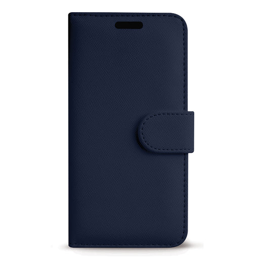 Case FortyFour No.11 for Apple iPhone 11 Pro Max/XS Max in Cross Grain Dark Blue
