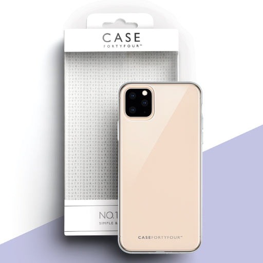 Case FortyFour No.1 for Apple iPhone 11 Pro in Clear