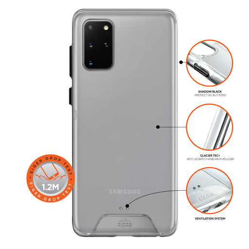Eiger Glacier Case for Samsung Galaxy S20+ in Clear