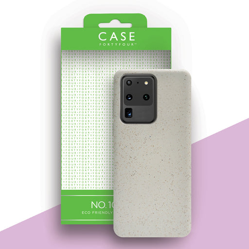 Case FortyFour No.100 for Samsung Galaxy S20 Ultra in White
