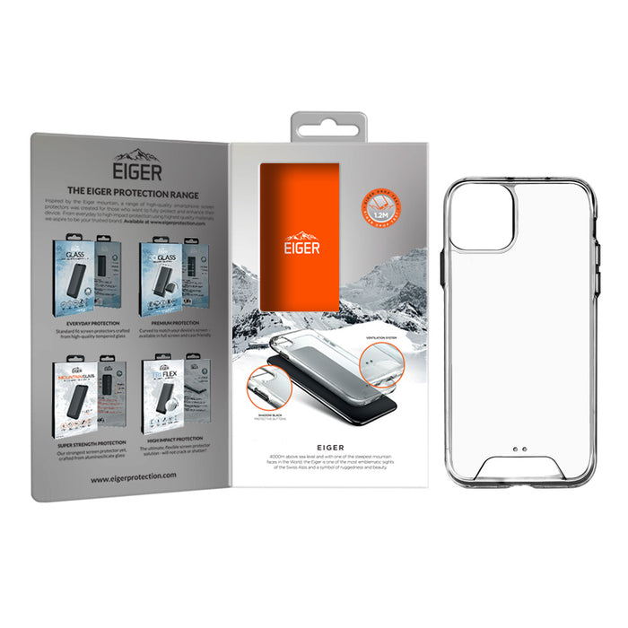 Eiger Glacier Case for Apple iPhone 11 Pro in Clear