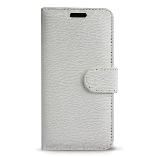 Case FortyFour No.11 for Apple iPhone 11 Pro Max/XS Max in Cross Grain White
