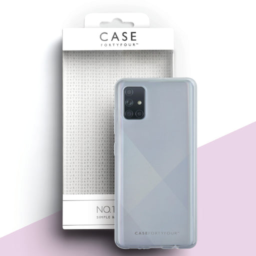 Case FortyFour No.1 for Samsung Galaxy A51 in Clear