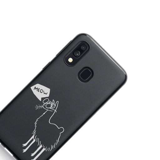 Mevo Cases Leopold Lama Case for Samsung Galaxy A30 By Mevo
