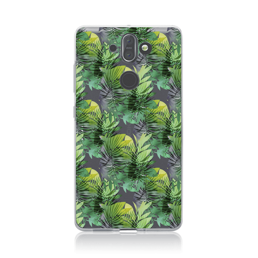 Mevo Cases Tropical Leaves Case for Nokia 8 Sirocco By Mevo
