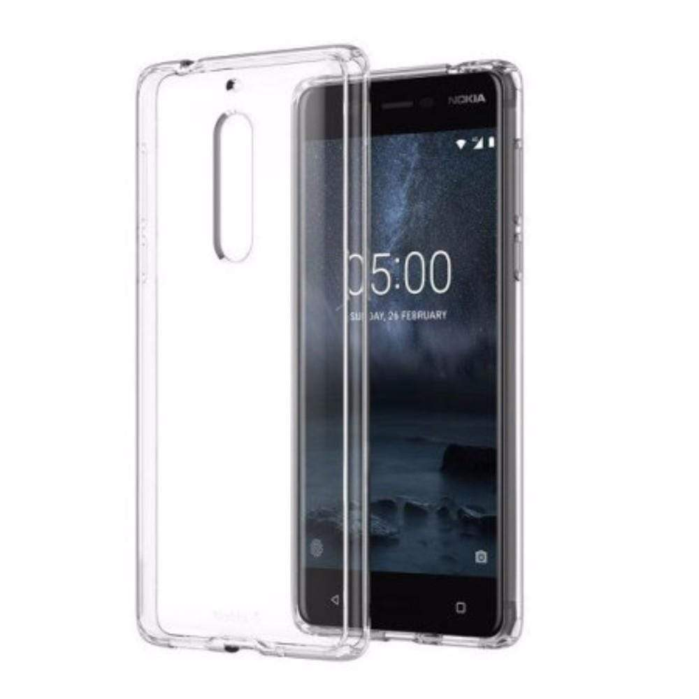 Nokia Cases Nokia CC-704 Hybrid Crystal Case for Nokia 5 in Clear