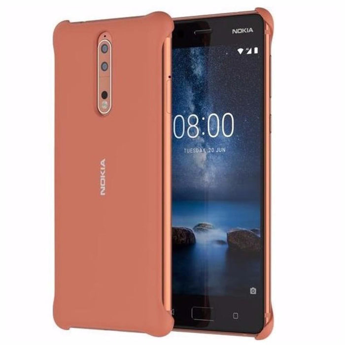 Nokia Cases Nokia CC-801 Soft Touch Case for Nokia 8 in Copper