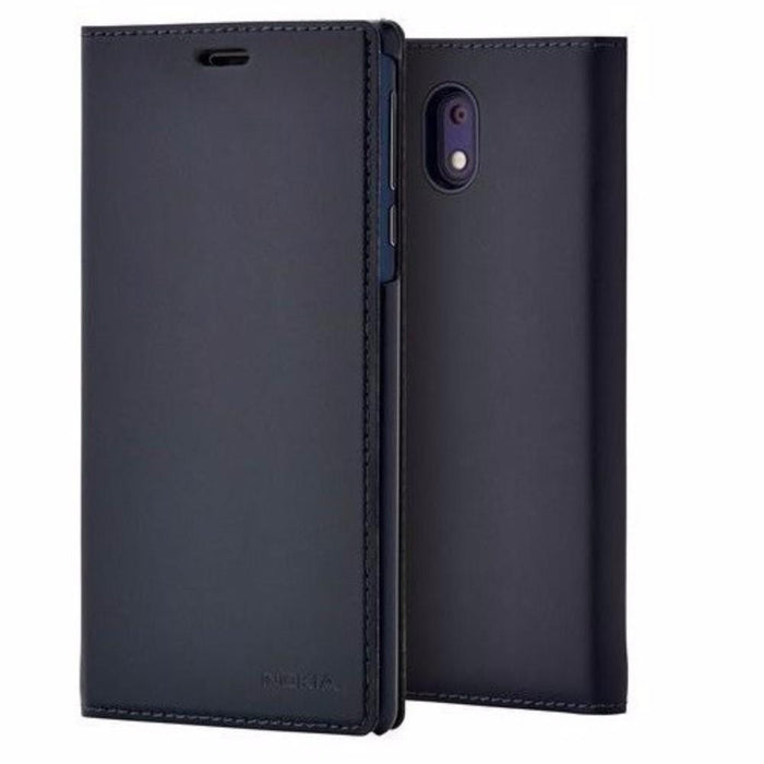 Nokia Cases Nokia CP-303 Slim Flip Wallet Case for Nokia 3 in Blue