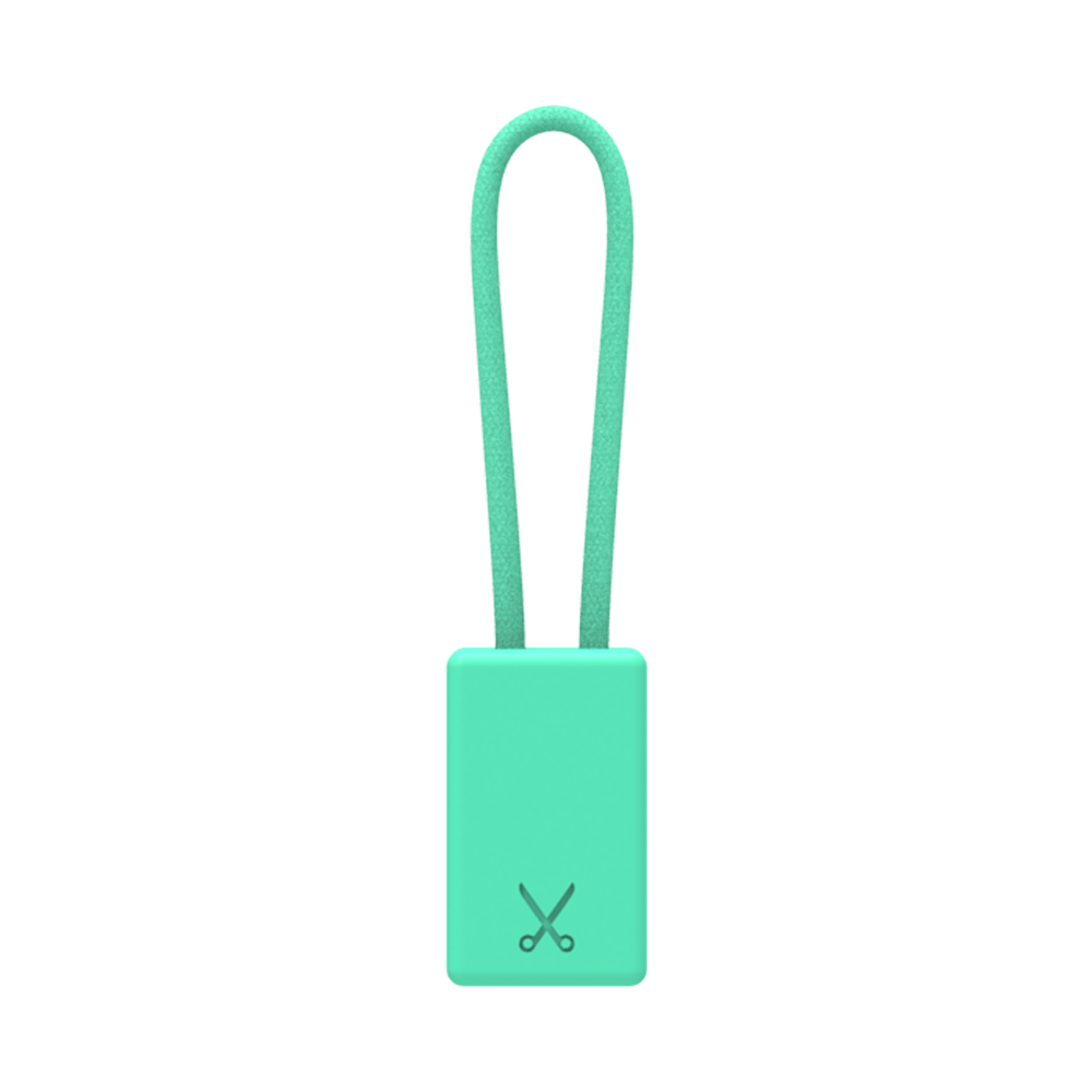PHILO Chargers & Cables PHILO Lightning MFI Charging Cable Keychain for Apple Device - Light Blue