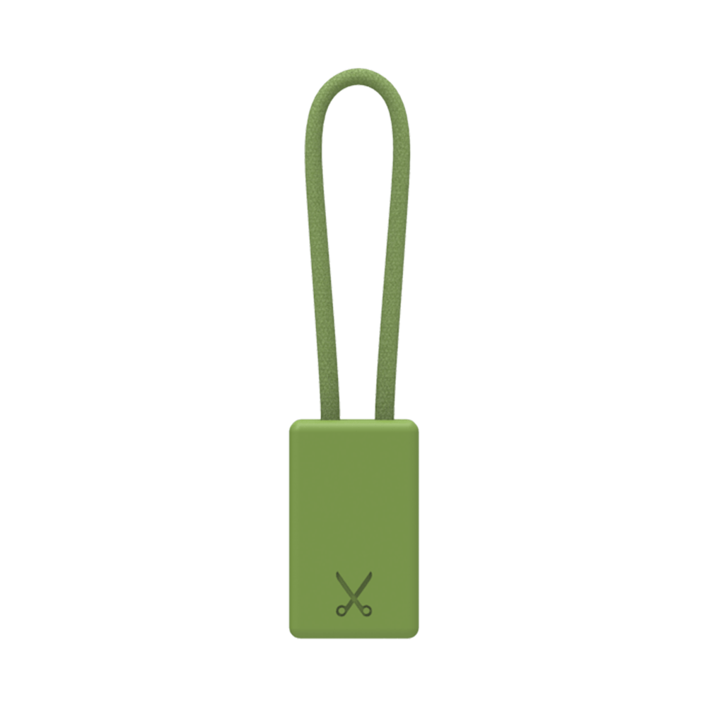 PHILO Chargers & Cables PHILO Lightning MFI Charging Cable Keychain for Apple Device - Military Green