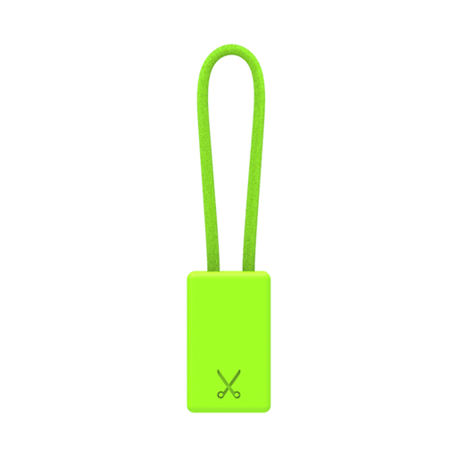 PHILO Chargers & Cables PHILO Lightning MFI Charging Cable Keychain for Apple Device - Neon Green