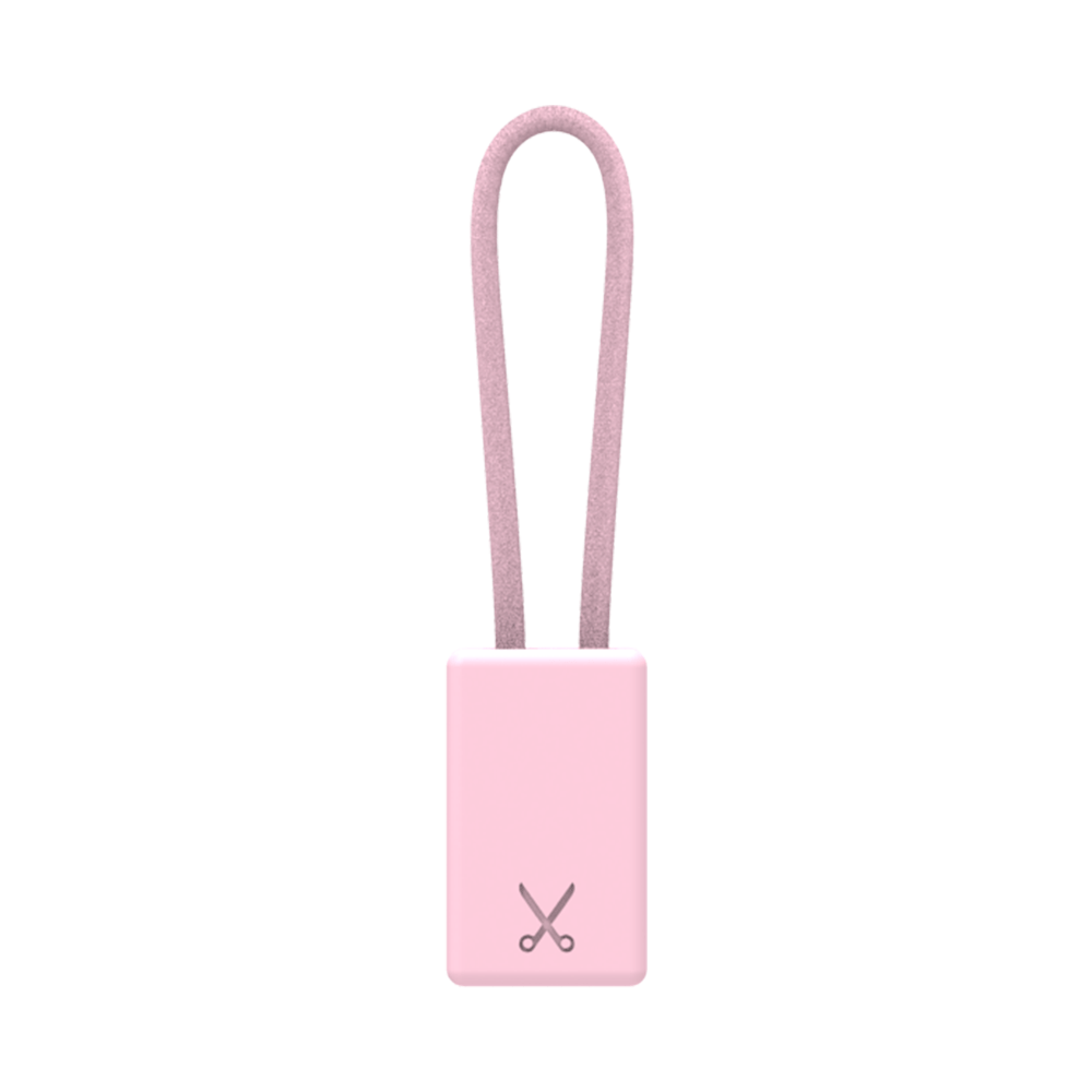 PHILO Chargers & Cables PHILO Lightning MFI Charging Cable Keychain for Apple Device - Rose Gold