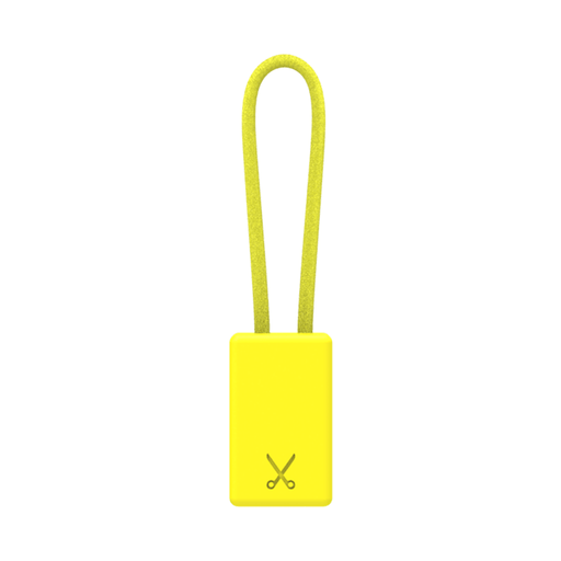 PHILO Chargers & Cables PHILO Lightning MFI Charging Cable Keychain for Apple Device - Yellow