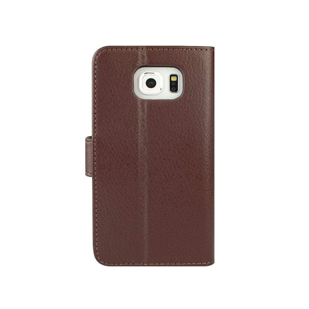 Redneck Cases Redneck Prima W/Folio Galaxy S6 Brown Case