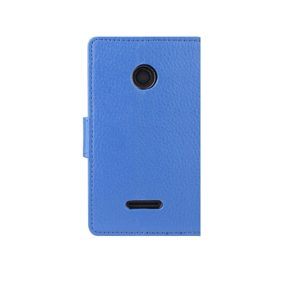 Redneck Cases Redneck Prima W/Folio Lumia 435 Blue Case
