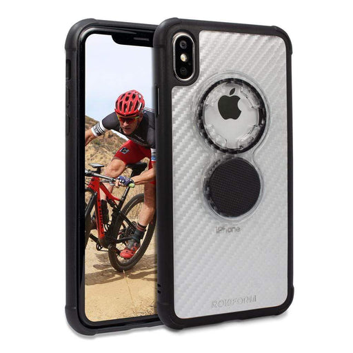 Rokform Cases Rokform Apple iPhone XS Max Crystal Case - Carbon Clear